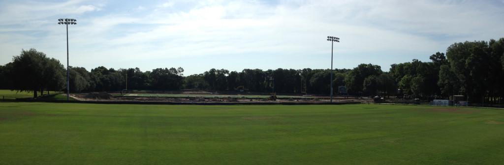 Milne Field Construction, June 14 2014