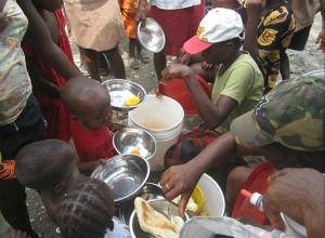 Christian Light School - feeding babies3